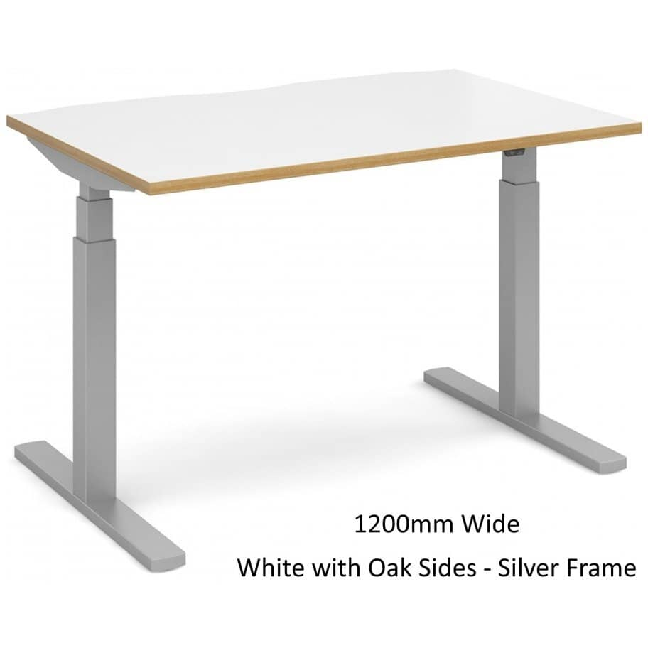 Elev8_Touch_Single_Height_Adjustable_Desk_1200mm_White_with_Oak_Sides_Silver_Frame-912x912