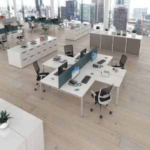 Adapt Bench System Desking Range Product