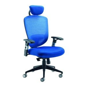 JUST ARRIVED! BRAND NEW!! ARISTA MESH BACK TASK CHAIR WITH HEADREST – £149 + VAT – LIMITED STOCKS