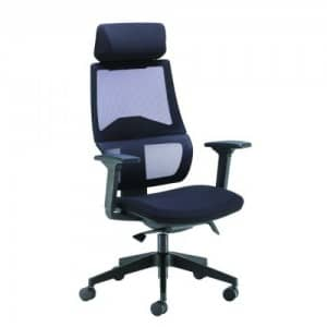 BRAND NEW!!! Arista Cadence High Back Executive Mesh Chair Black KF71481 £199 + VAT